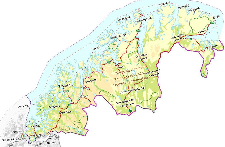 Troms Og Finnmark Store Norske Leksikon