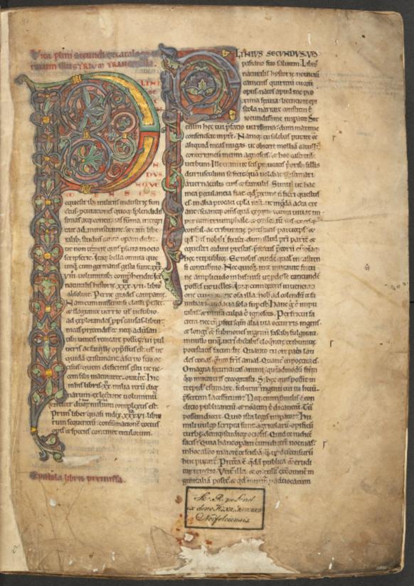 Standard plinius historia naturalis the british library