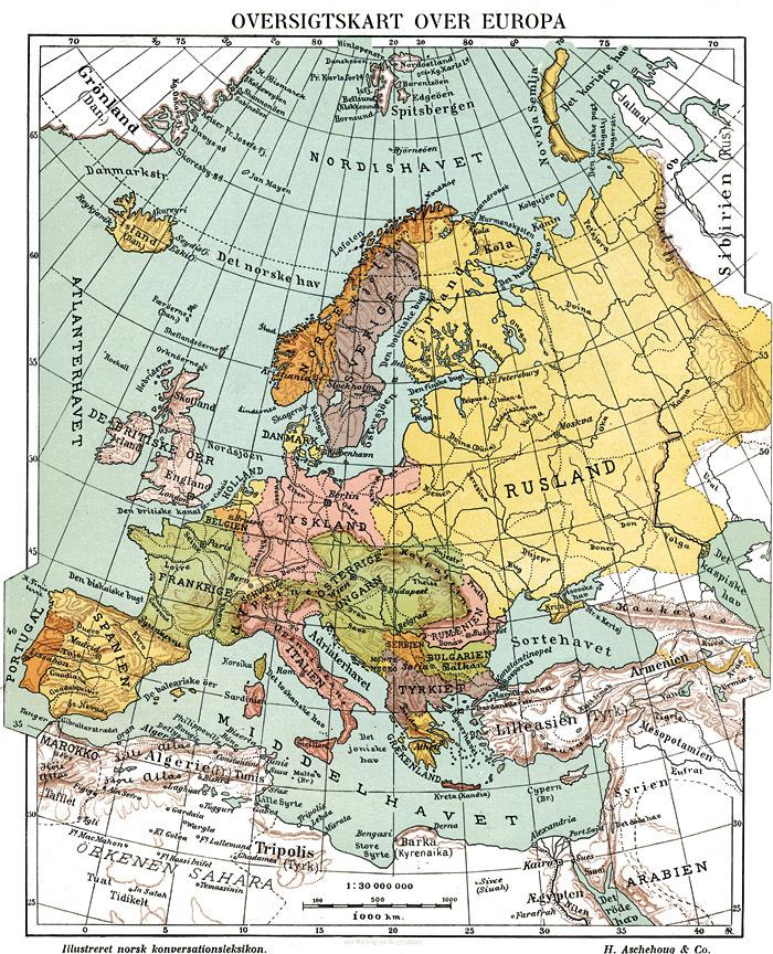 Europa Store Norske Leksikon