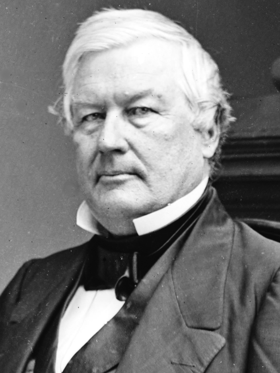 Standard millard fillmore  13th president of the united states