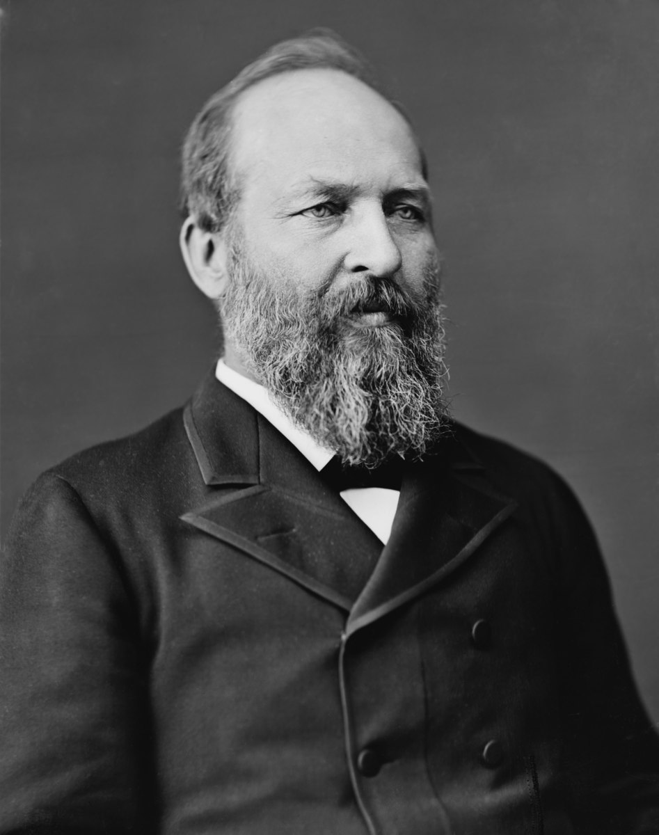 Standard james abram garfield  photo portrait seated