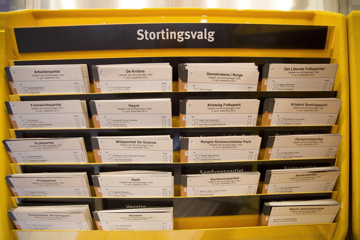Standard stemmesedler