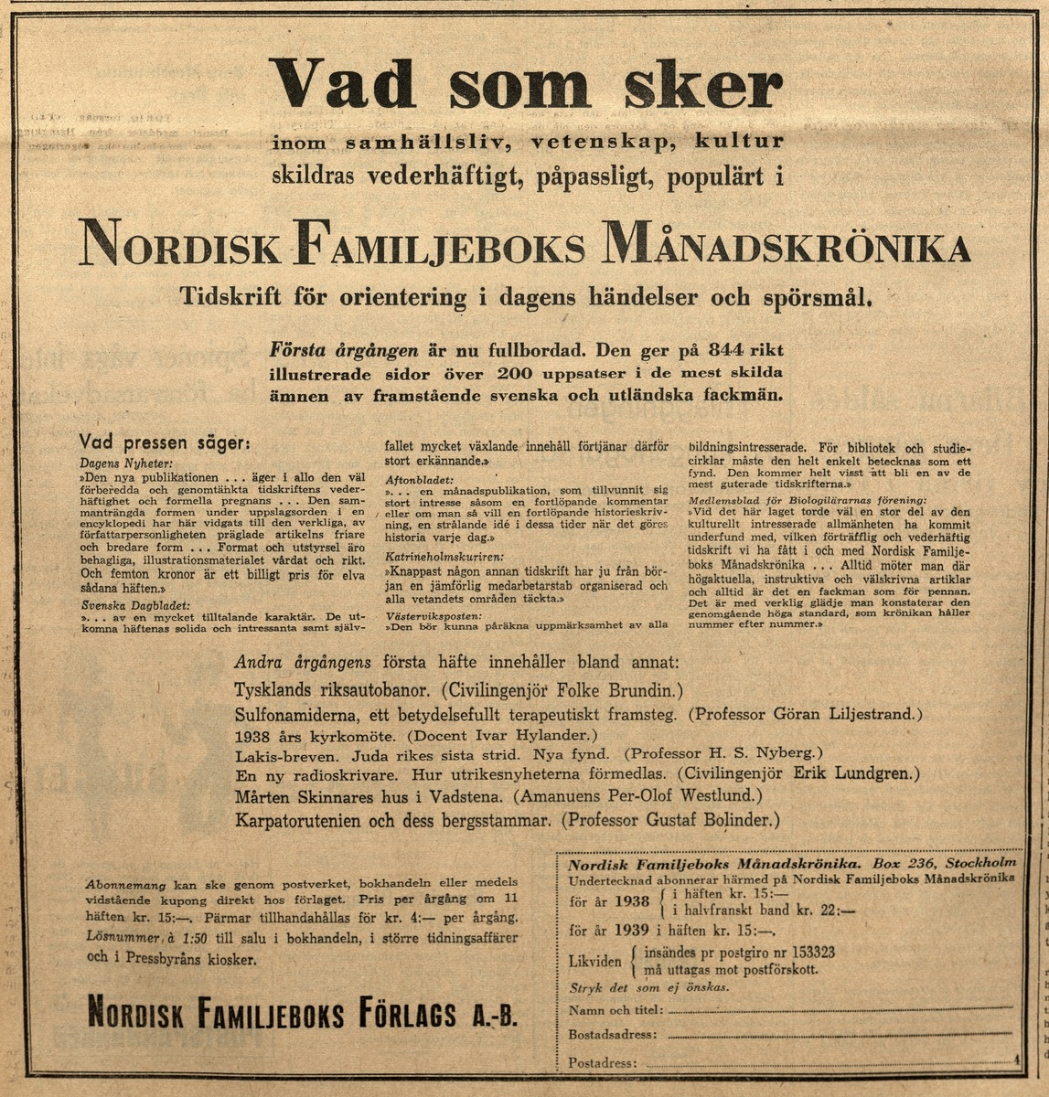 Standard aftonbladet 29 dec 1938 kopi 1