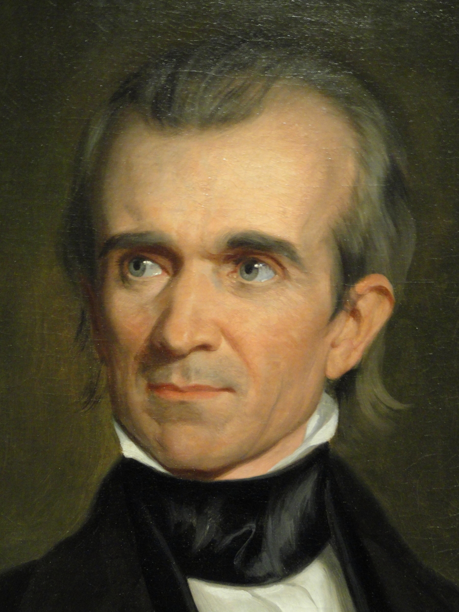 Standard james knox polk by george peter alexander healy  detail   1846   dsc03261