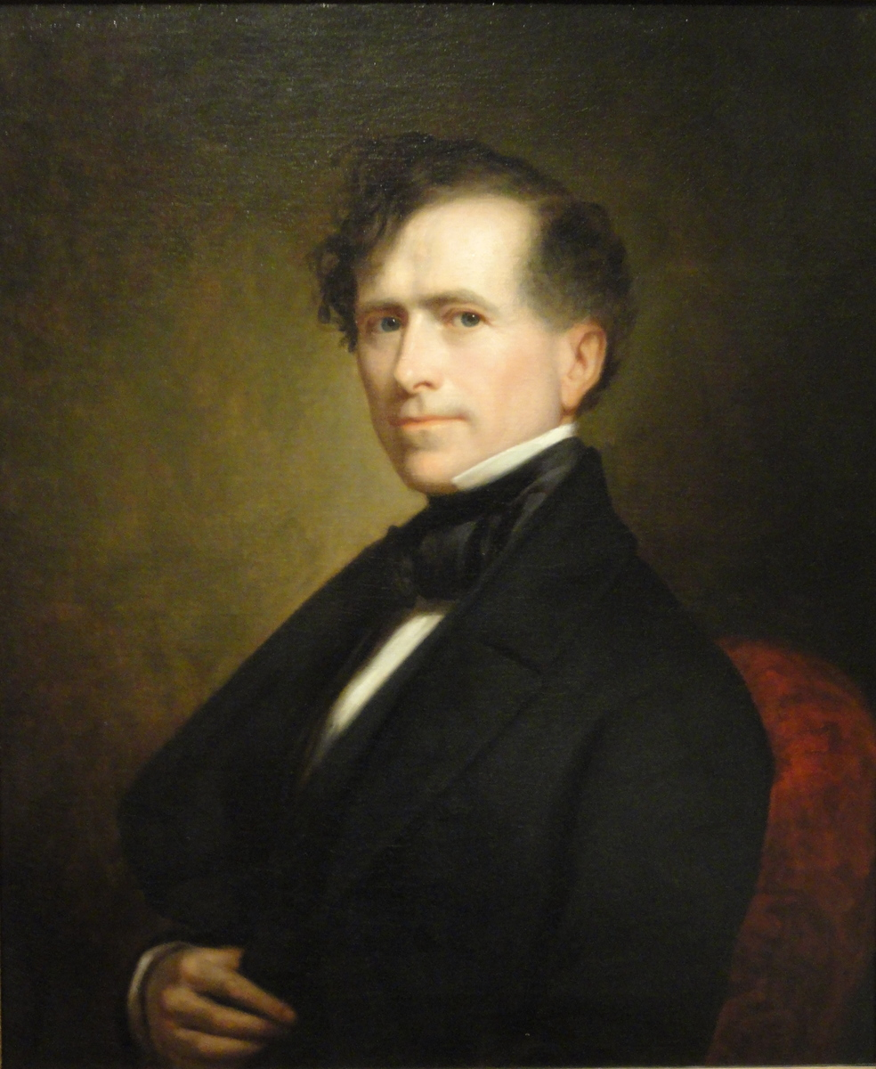Standard franklin pierce by george peter alexander healy  1853   dsc03239