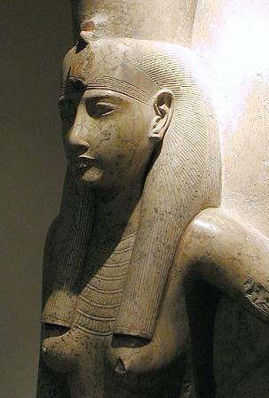 Standard 10 luxor museum   mut   dated 19 dynasty c 1279 to 1213 bc