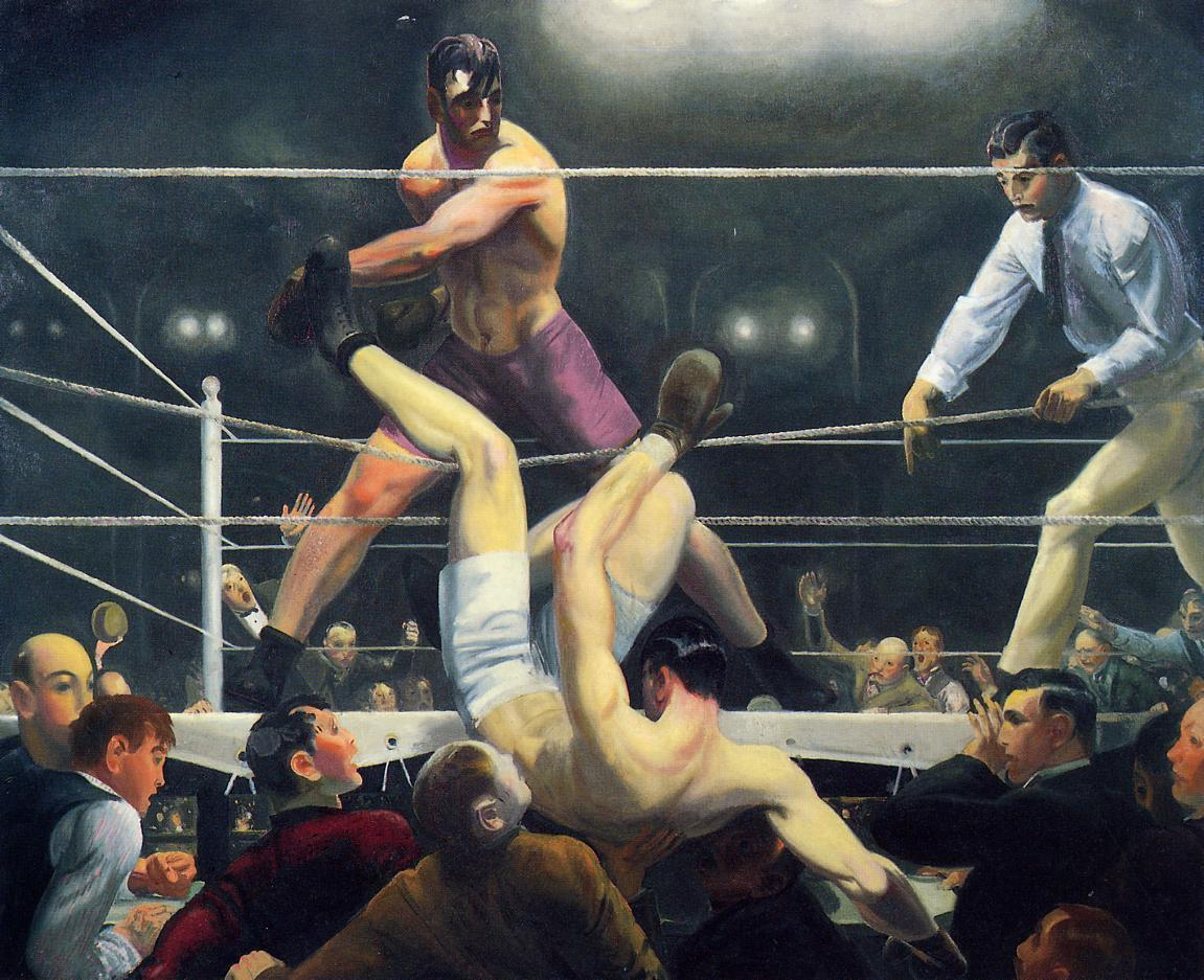 Standard bellows george dempsey and firpo 1924