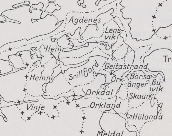 Agdenes Tidligere Kommune Store Norske Leksikon