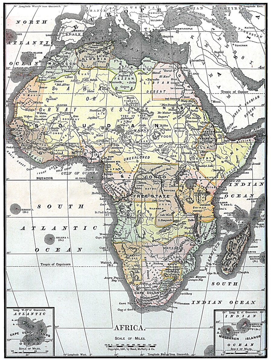Afrikas Historie Store Norske Leksikon