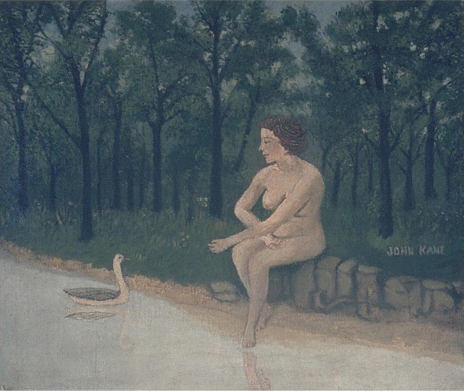 Standard  leda  by john kane  johnson museum of art