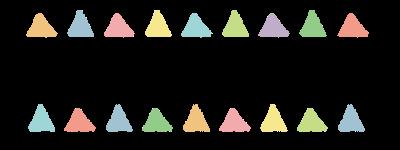 282シンプル三角ラインD