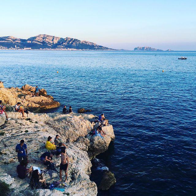Marseille easygoinglife sunset 🌊🤟🌝