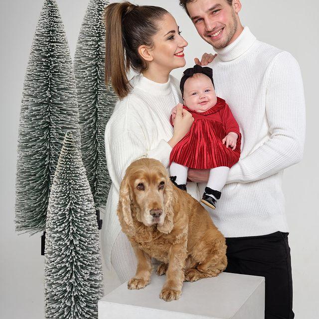 Boldog, békés karácsonyt mindenkinek❤️ Merry Xmas to everyone #patinszkifamily #szofia #firstchrismas