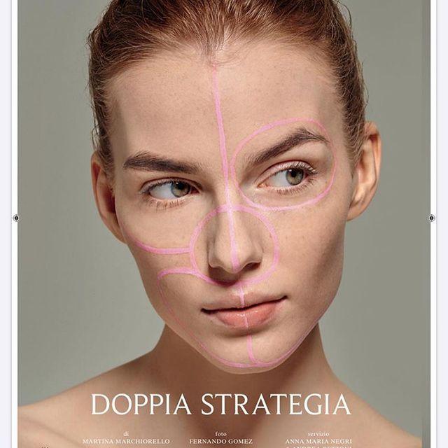 @vanityfairitalia  #photo #by @fernandabrandaao #makeup #by @annamarianegri #vanityfairbeauty #milano #editorial #out #now #natural #makeup #redhair #model #polskadziewczyna #instapic #instalike #work