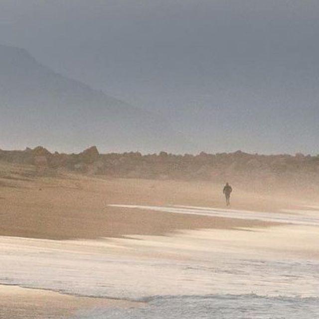 beach running is the best 🧘♂️