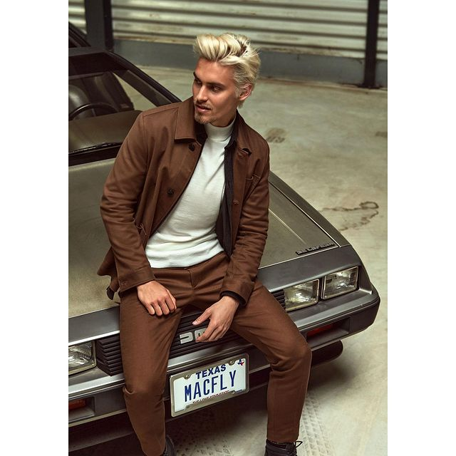 test drives are not a necessary part of car shopping, but surely #makeitfashion and check the angles  A few from @strellson F/W Campaign, shot by @lucianbor  Thanks @sarah_lucia_rabel for the hair mastery