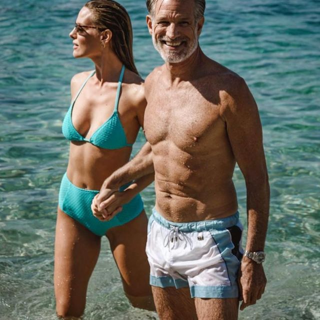 Hanging out in the Mediterranean with beautiful @alessandra_toso_   #croatia #blueiprod #olgadromas #modeling #menover50 #keepingfit #vegetarian