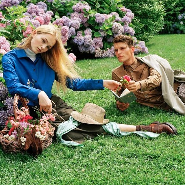 British Vogue July '17  Shot by @bruce_weber  Styled by Joe McKenna  H&M by @jimmypaulhair @diane.kendal.  @soulartistmgmt @edward_enninful @britishvogue