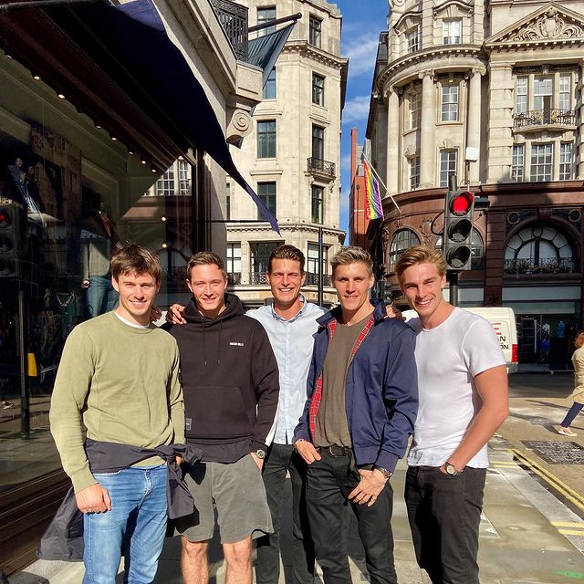 Great catchup with the Lads in London Town