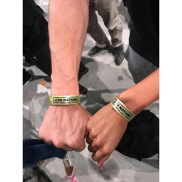 The best bracelet ever... #pinkfloyd #rogerwaters #love #concert #live