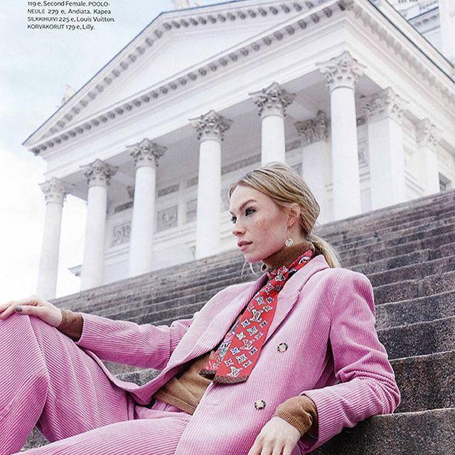 @gloriamagazine ✨ 📷: Päivi Ristell  👗: Liisa Kokko 💄: Piia Hiltunen