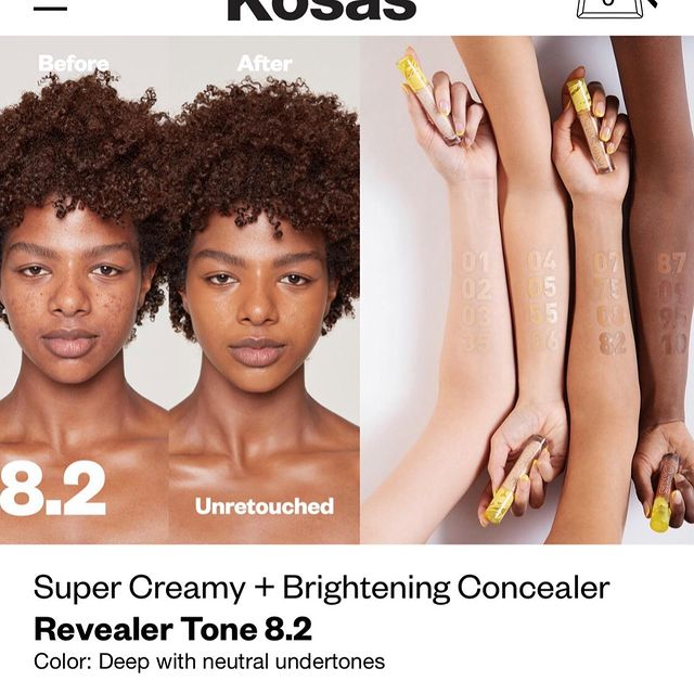 It's weird I thought I posted this but I guess not 😂 Thank you @kosas again for letting me apart of the Kosas family 🥰🥰, definitely guys keep pushing towards your dreams 🙏🏾 #motivationmonday #beauty #beautyshoot #beautycampaign