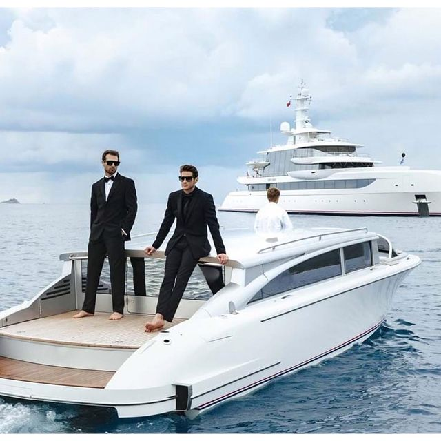 """""""Excellence"""" @burgessyachts  shot by @mrslogvina @blueiprod  AD: @kirsty_young10  Styling: @stylist_sev  H+M: @flawlessbypaige  Agency: @willymennyc  @vincedickson"""