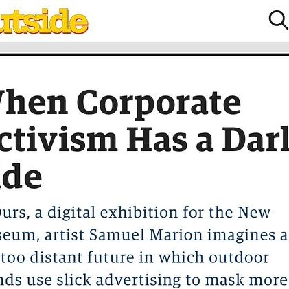 """""""Ours"""" profiled in hometown favorite @outsidemagazine   Big thank you to Erin Berger!"""