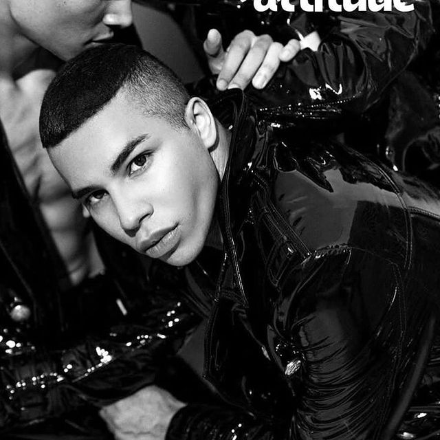 @attitudemag @olivier_rousteing Thx for this first @balmain cover ✨