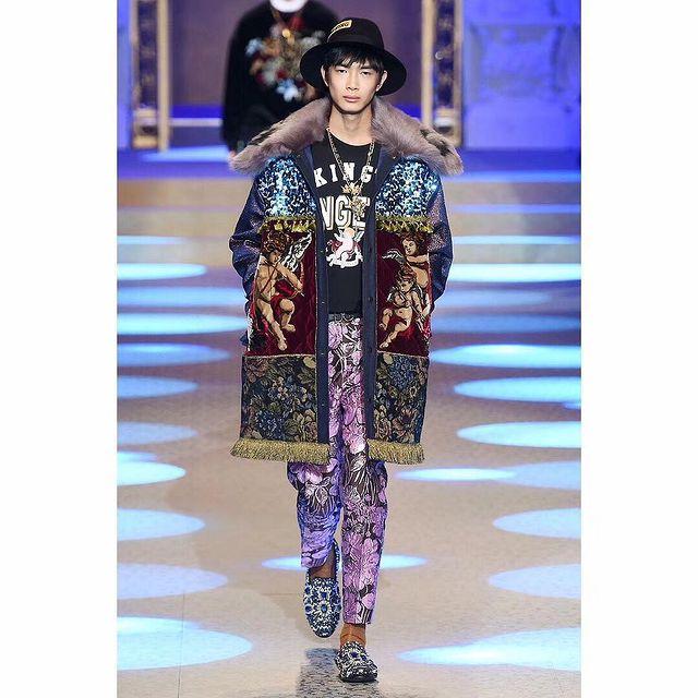 #MFW #AW18 Dolce & Gabbana  Big Thanks for having me @dolcegabbana @stefanogabbana  #dolcegabbana #Milano #fashionweek #runway #fashion #liyufeng
