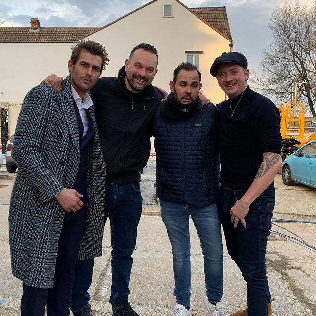 Last day of shooting rise of the foot solider origins today it's been an amazing experience big respect to @carnabyandy and @nicknevern for giving me the chance can't wait to see the film now make sure you check it out next year In cinemas #rotfsorigins #featurefilm #movie