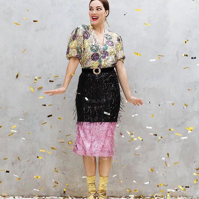 Ja hoor!! Wat glitters en champi om de boel op te vrolijken. Thanks @esmeefrankenphotography @ashleyveraartstyling @sjarde_kirioma @flair_nl #glitter #party #champagneyney