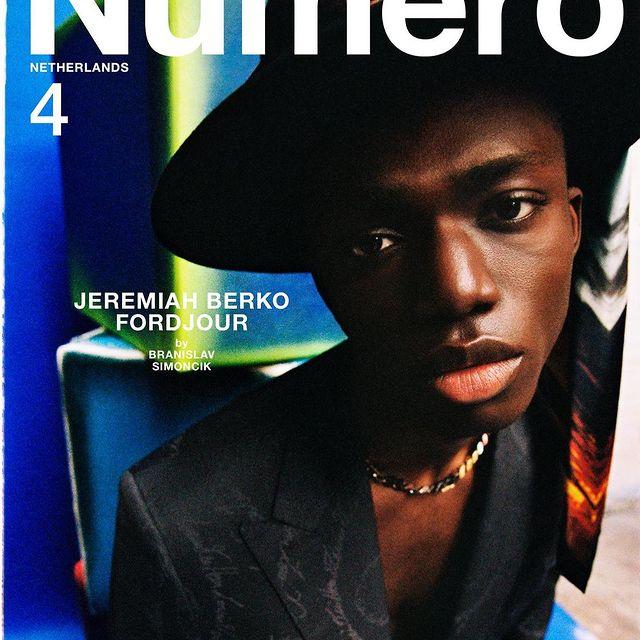 Numero new issue cover :> thank you legends 🎨🎨@timiletonja @thetroopers_  @numero_netherlands @felixgesnouin by @branislavsimoncik style @gabriella.norberg grooming @jacobkajruphair @lloydsimmondsmakeup