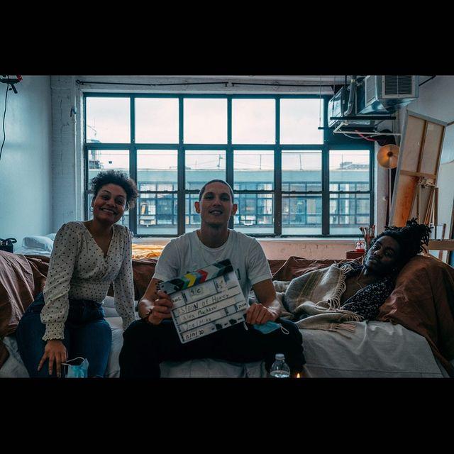 🍯🍯🍯 @aspoonofhoneyfilm  📷: @maliklindo  #indiefilmmakers #supportindiefilm