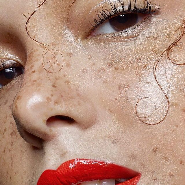 Brown eyes ft. Cherry lips