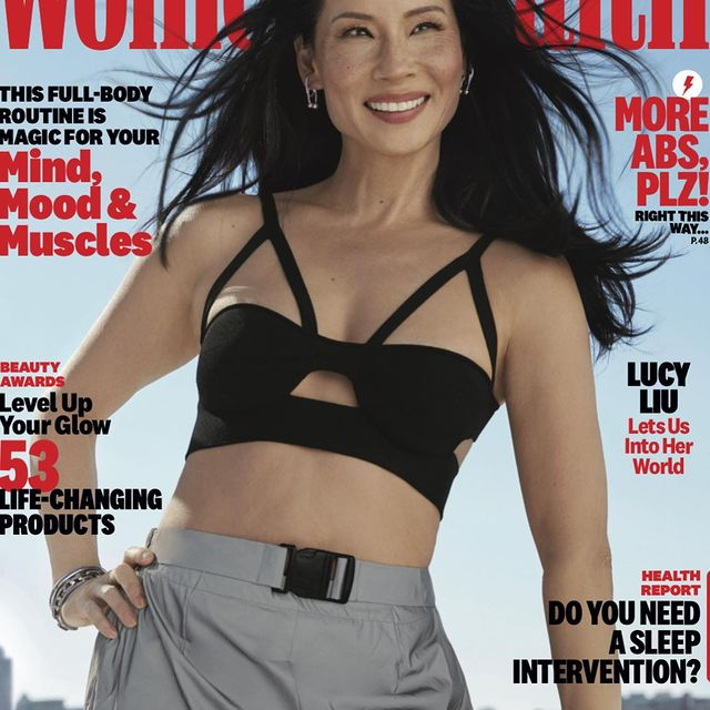 The legend @lucyliu for the cover of @womenshealthmag  By the talented @aingeruzorita   Fashion Director: @kgsaladino  Hair: @_marcosantini1  Makeup: @rebeccarestrepo  Prop Styling: @piecesofcate  Writer: @helinjung Retouching: @mollyrepetti