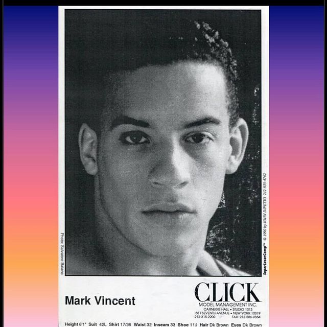 Holy #tbt  @vindiesel back in the day when he was CLICK model ! Thank you @singtomegordo for this flashback 🙏