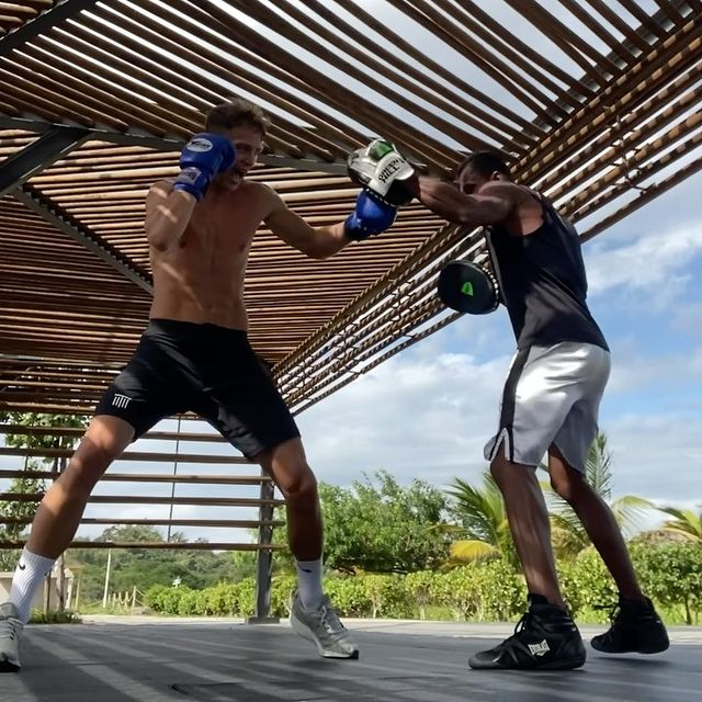 Anywhere, Anytime 🔥 #Boxing