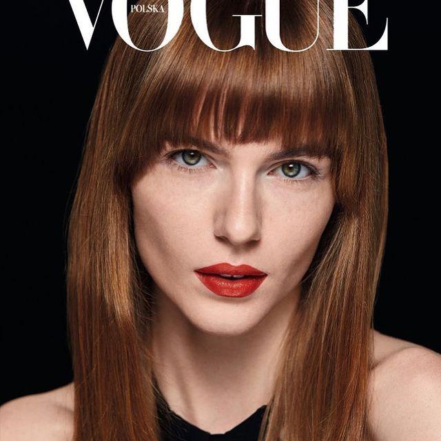 @vogue.polska  #photographer @tyszka_marcin  #photoshoot #edytorial #magazine #instadaily #red #lips #dior #instalike #instafashion