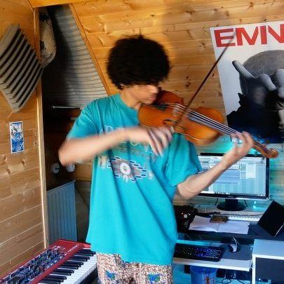 Un peu de douceur en ces temps troubles🎻 Petite inspiration✨ #violon #improvisation