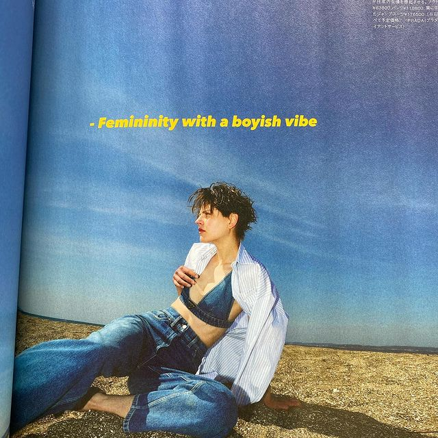 PRADA for CLUEL Magazine by Kenichi Takemoto  Styled by @_kushida H&M by @cakedaisuke   @prada @cluelmagazine @tokyo.rebels @selectivemgmt