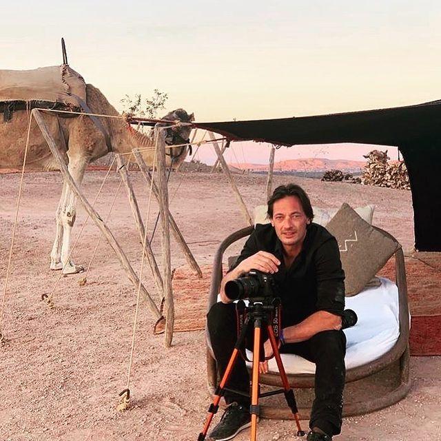 Merci à toi  pour ce beau moment #désert #Maroc #éditorial #bivouac