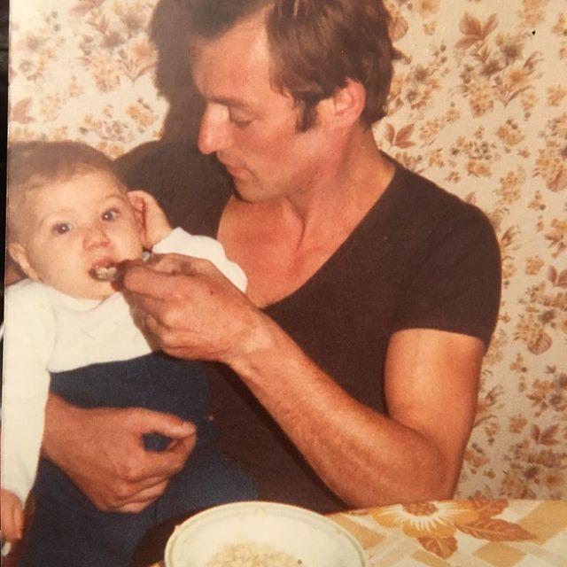 1983, Mon père .