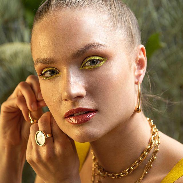 A po zachodzie wracałam do swojego Plemienia Słońca 🔆 🦓 #giorre #gold #złotadziewczyna #aztec #plemie #słońce #beauty #portrait