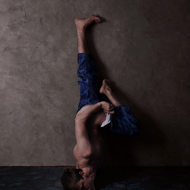 The Wall 6 . Color . by @vincentflouretstudio Wearing @neithnyer marble pant by @franciscoterra
