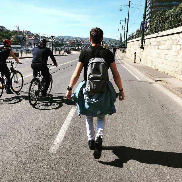 #budapest #rakpart #seta #walk #❤️