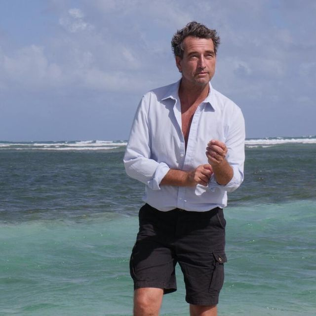 #ocean #atlanticocean #nature #beach #sun #bluesky #shirt #shorts #malemodel #classicmen #adventure