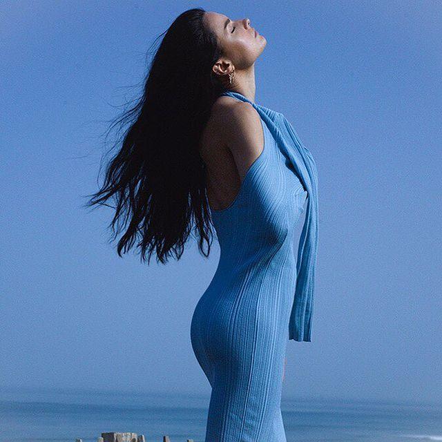 • • • • • #model #models #modeling #girl #frenchgirl #body #lifestyle #freedom #color #biarritz #blue #hair