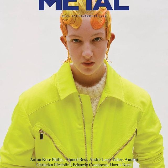 second cover for @metal_magazine  best team and cast and what a great group of people inside the pages :) thankyou @heather_glazzard & @ddstudios_ & @metal_magazine for having me