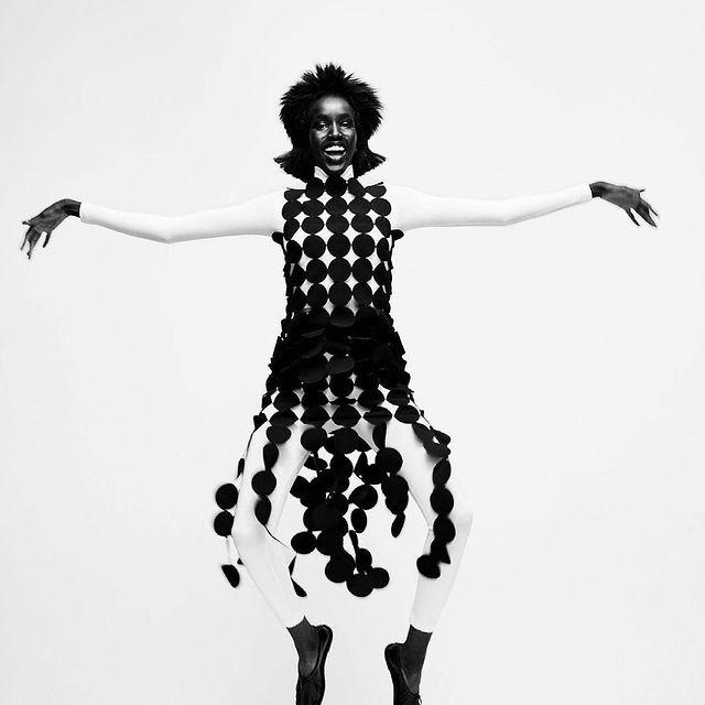 WALL STREET JOURNAL - Our beautiful Nyaueth • @nyauethriam • in her latest work for @wsj #MiLKImage 🖤 . . . @bibicornejoborthwick  @kphelan123 @sammcknight1 @lucyjbridge @adamslee_ @pat_boguslawski @roxy.walton